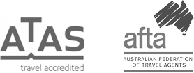 ATAS Travel Accredited and Australian Federation of Travel Agents