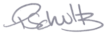 Signature of Paul Schultz